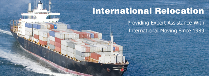 International Moving Services- Providing Expert Assistance With International Moving Since 1989 - Cargo Ship In the Ocean